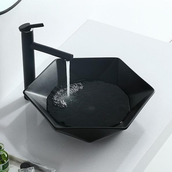 Yunnuo art basin high quality coloured ceramic kitchen sinks free sample patio