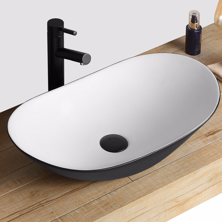 Big Size Black wash sinks with  Minimalistic Industrial Style from China bathroom wash sinks supply