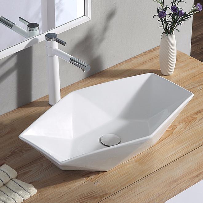white gold reginox 1.5 bowl ceramic sink diamond bistro