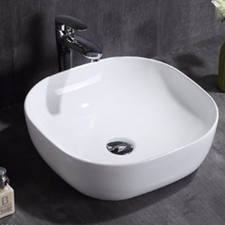 Yunnuo art basin industry undermount bathroom sink shape bistro
