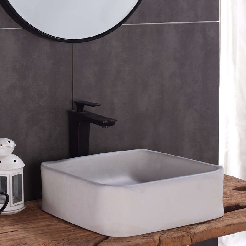 Concrete basin & Sink, the series of concrete cement hand wash basin& sink