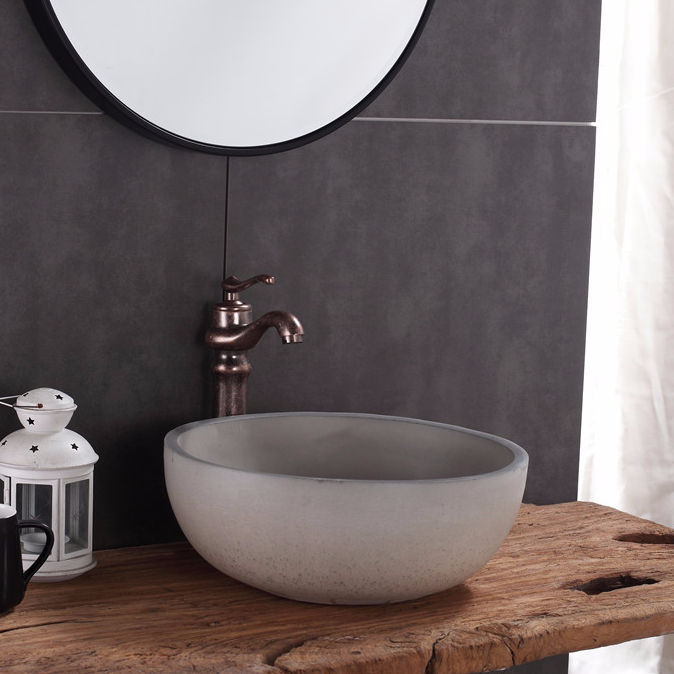 Foshan Promise Art basin supply concrete wash sinks to wholesalers & Suppliers / From China