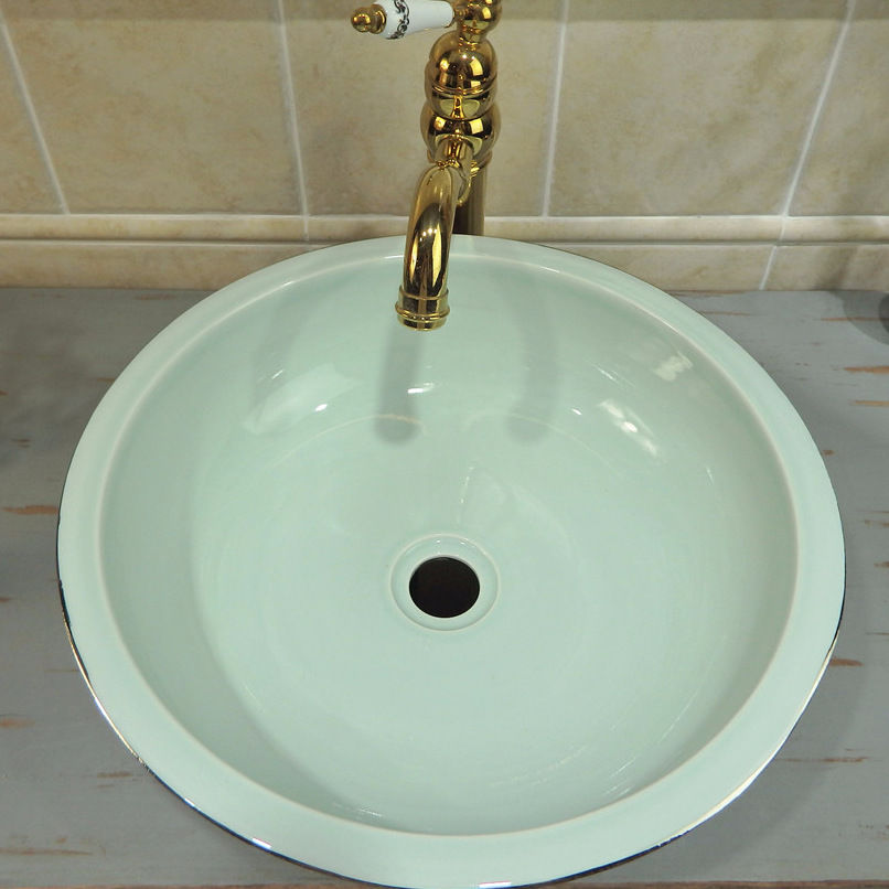 Special price of bathroom wash sinks  from Promise Art Basin ,the silver color ceramic wash sinks with Applique patching