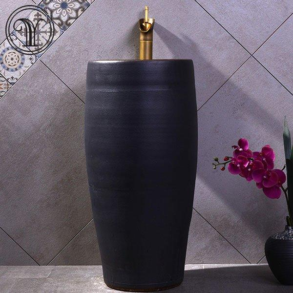 Special discount for high end bathroom pedestal basins