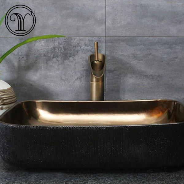 Hot selling designs of metal glazed wash basins in Canada