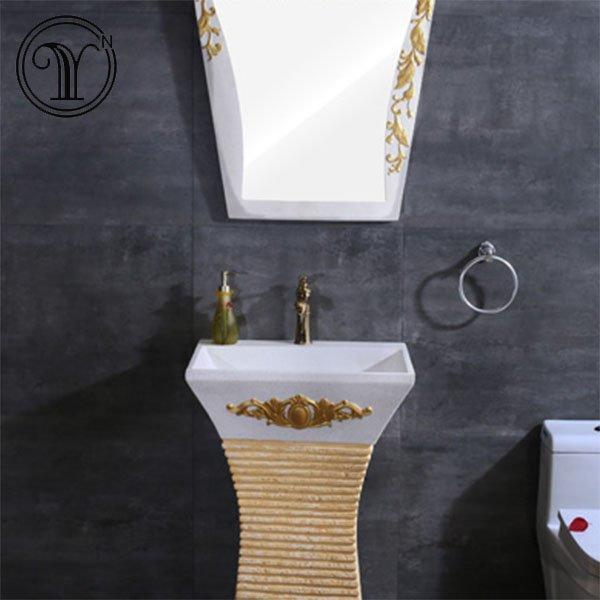 Bathroom and balcony sandstone wash basins in China