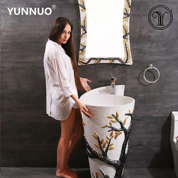 Promise art basin supply high-end custom private art bathroom