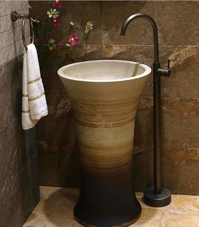 China famous brand handmade porcelain hotel wash basin