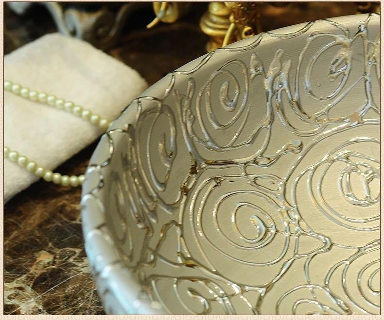 Experienced luxury silver basin manufacturer