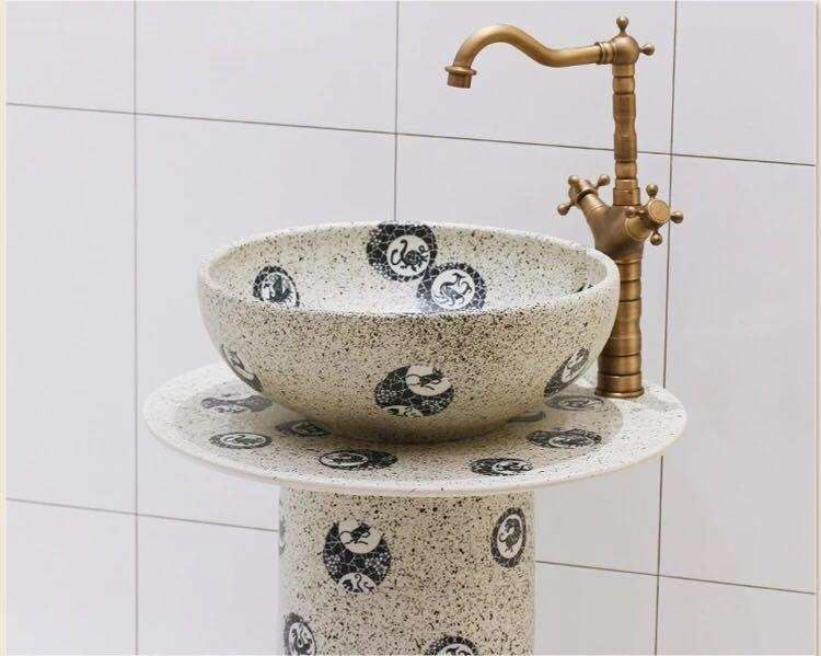 New designs of antique handmade wash basins