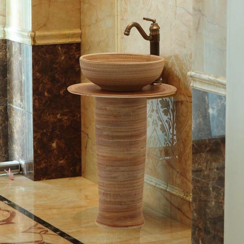 Antique column basins hot selling in the United States