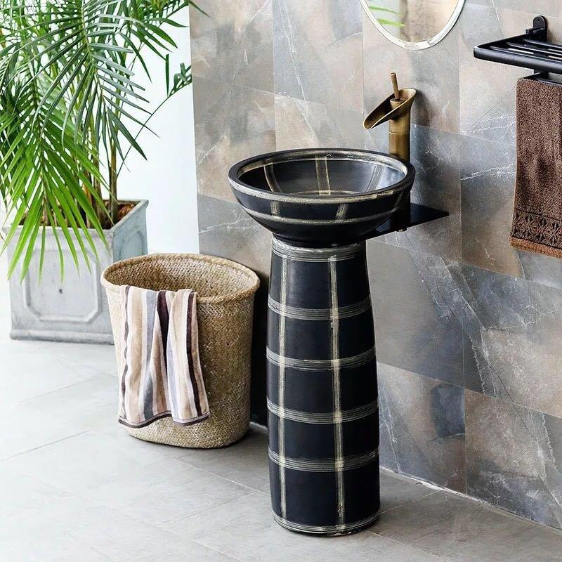 Get latest info on pedestal washbasin