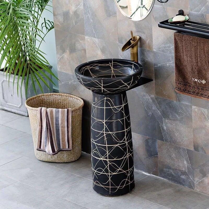Antique column basins with best price and high quality