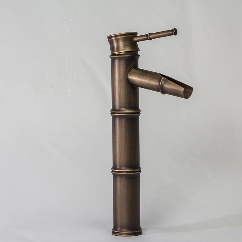 Antique color bamboo tap made of brass material