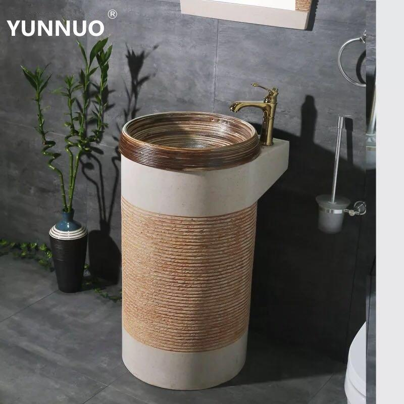 Special Discount for High End bathroom Sandstone sinks