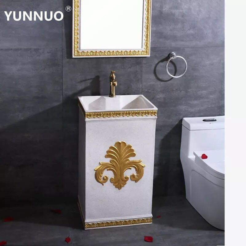 Luxury Bathroom sandstone Sink of Manufacturers in China