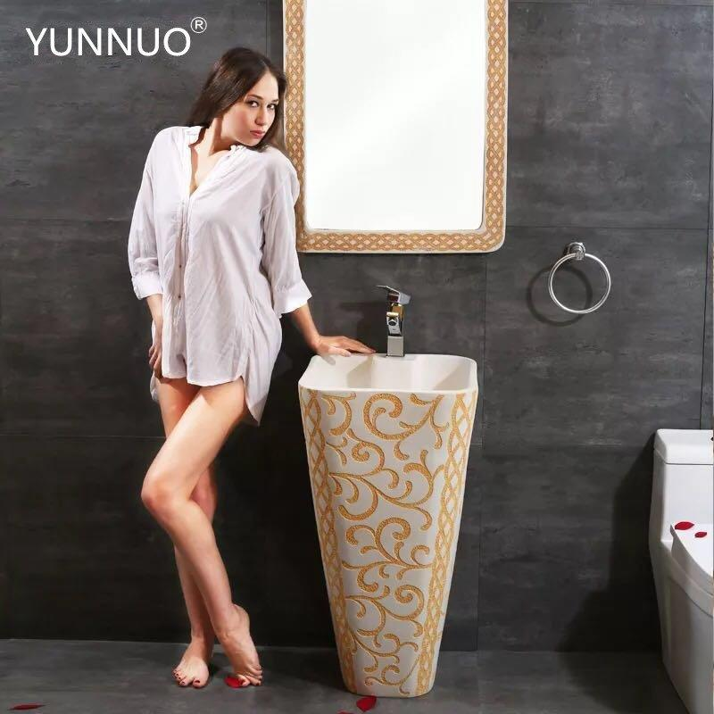 Professional of bathroom Sandstone Sinks in China Foshan