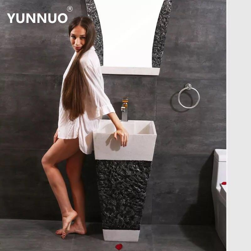 China sanitary ware factory of  sandstone wash sinks  for bathroom products