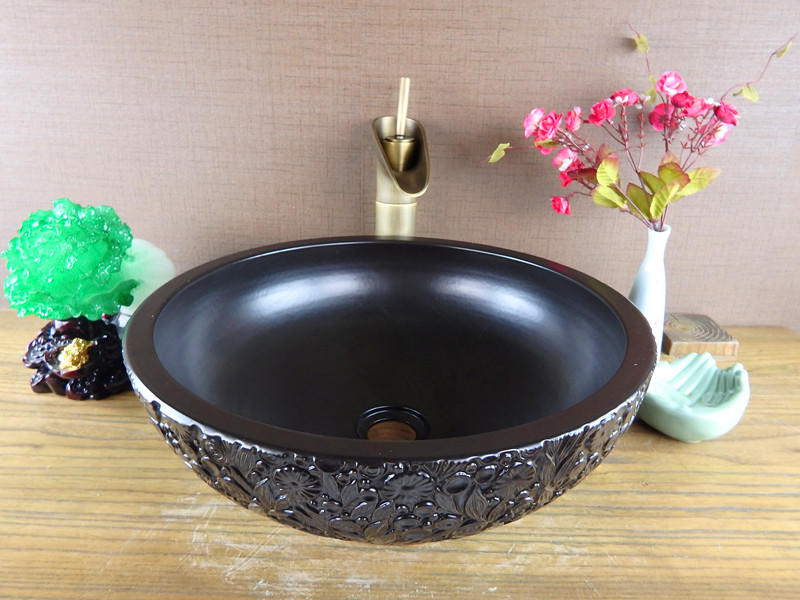 Counter top Basins of handmade wash sinks manufactures in China Foshan