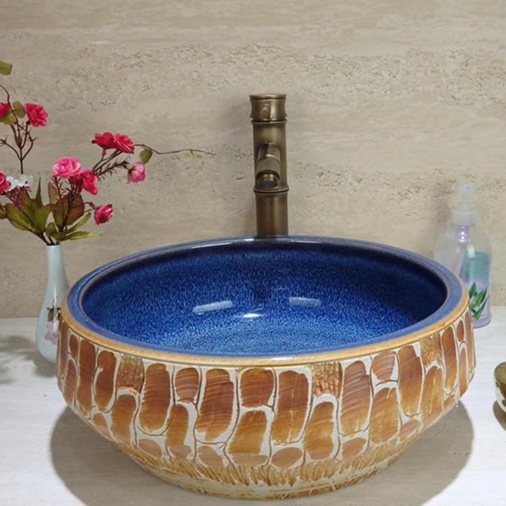 Classical & Friendly of  unique designs round wash sinks in  Australia