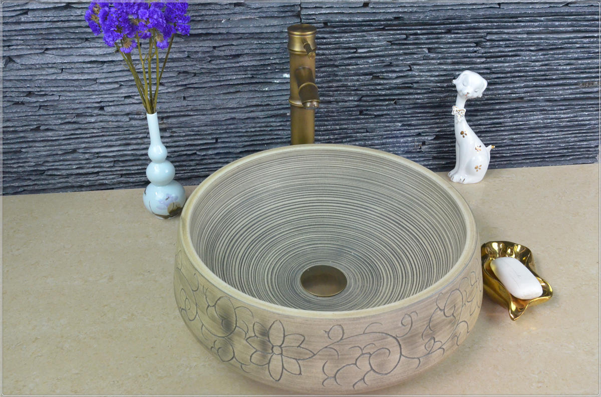 Project hotel new hand wash basin price above counter ceramic sink