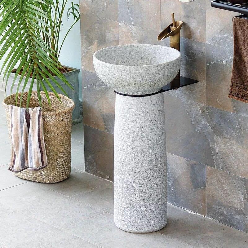 White color of Bathroom & Kitchen free standing wash sinks