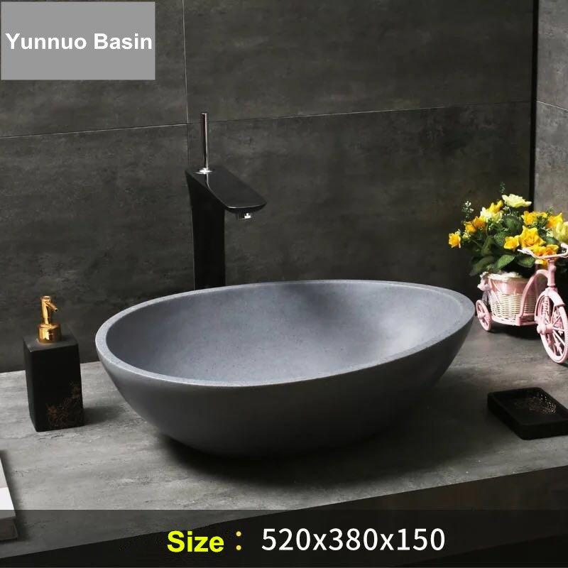 Design bathroom wash basins manufacturers in China for stone resin artifical sink