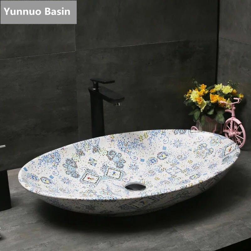 Bathroom Cabinet Artificial Stone Basin with high quality