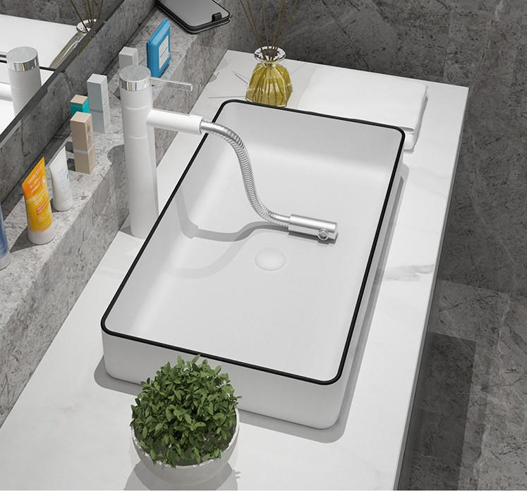 SPECEIAL PRICE FOR RECTANGULAR WHITE CERAMIC BASIN& BATHROOM WASH SINKS