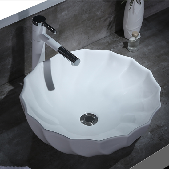 Pure White Ceramic Table Basin with high quality & Best price