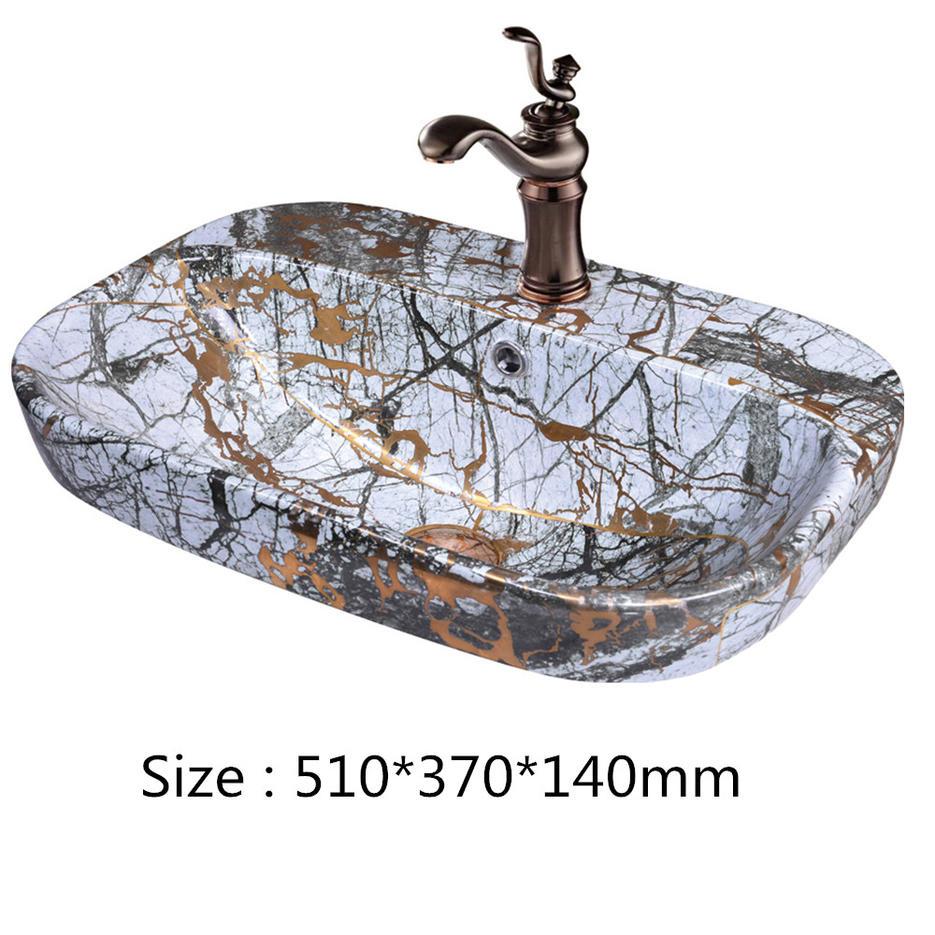 2019 New design bathroom  Wash basins Worldwide hot selling from Promise Art Basin