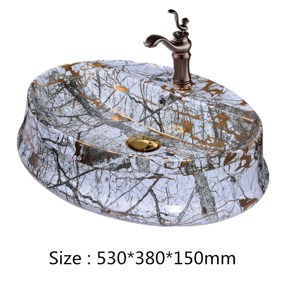 High quality & Durable modern design ceramic wash basins use for bathroom in hotel & home decor