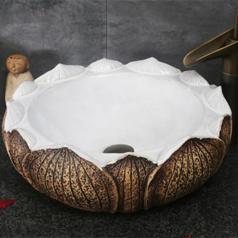 Beautiful Ceramic Wash Basins for Bathroom Decor