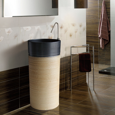 Bathroom Products of Pedestal Ceramics Wash Basins manufactures from China