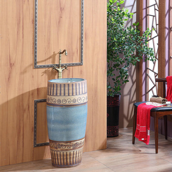 Supply bathroom products like pedestal wash sinks with best price and beautiful designs