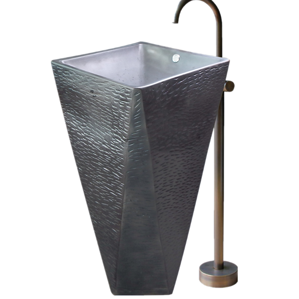 China Handmade Ceramics Pedestal Wash Sinks factory from Foshan Promise Art Basin