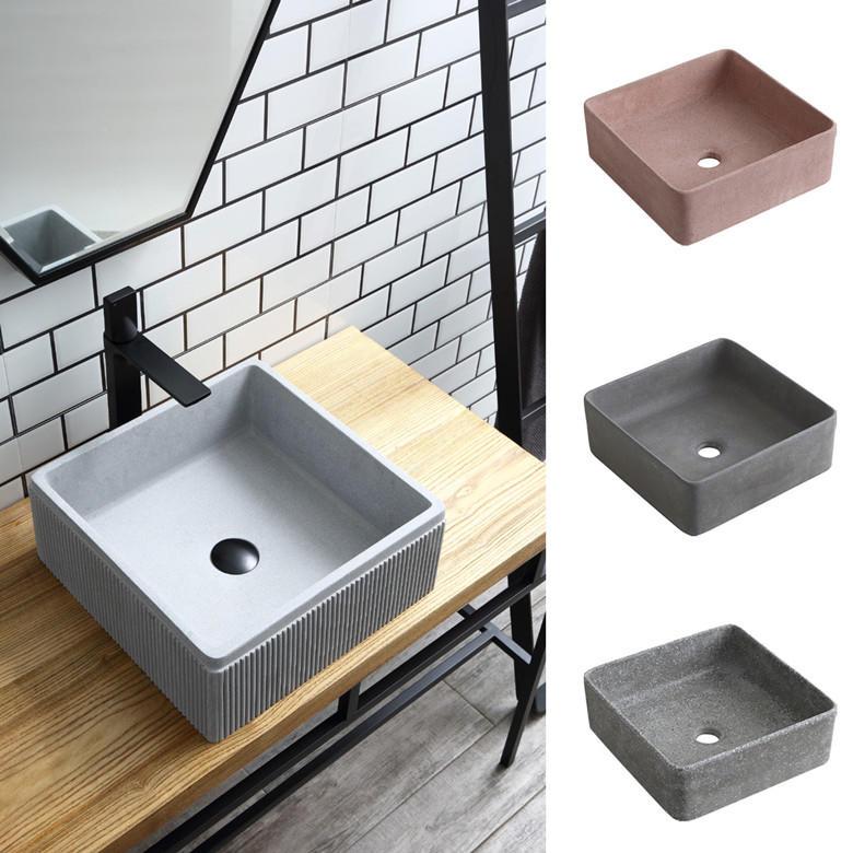 2019 New Designs Concrete Wash Basin