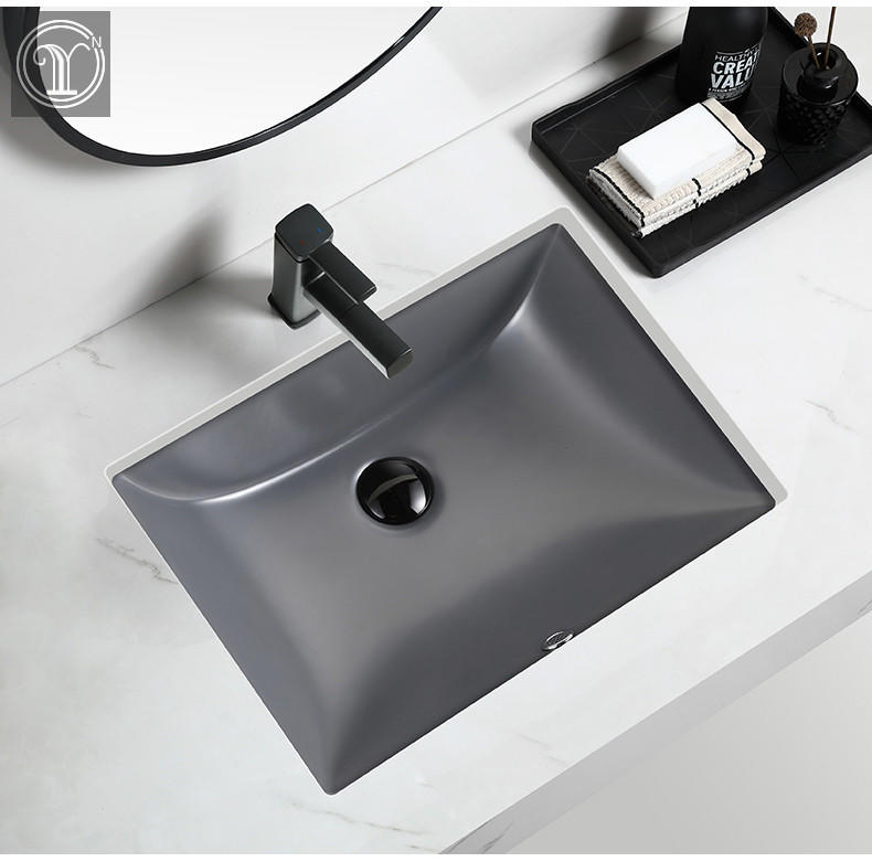 Colorful Under counter Basin from China ceramic wash basins Factory