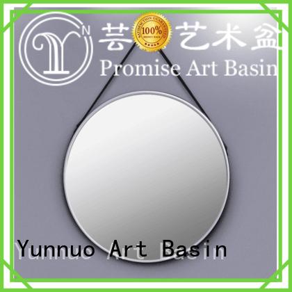 Yunnuo art basin colors wash basin mirror manufacturer Hotel