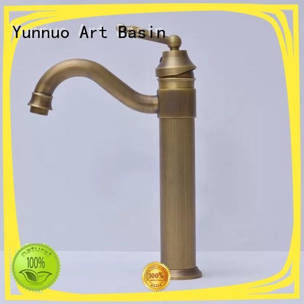 Yunnuo art basin sink tap manufacture bistro