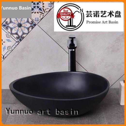 Hot artificial stone countertop basin color modern Yunnuo art basin Brand