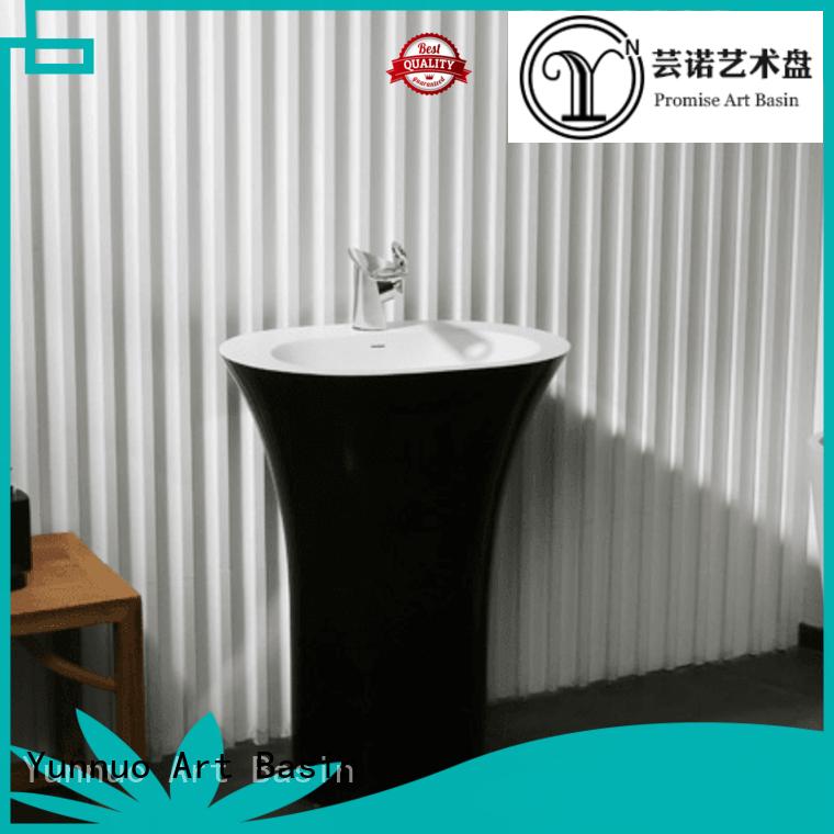 man artificial size beautiful Yunnuo art basin Brand stone countertop basin supplier