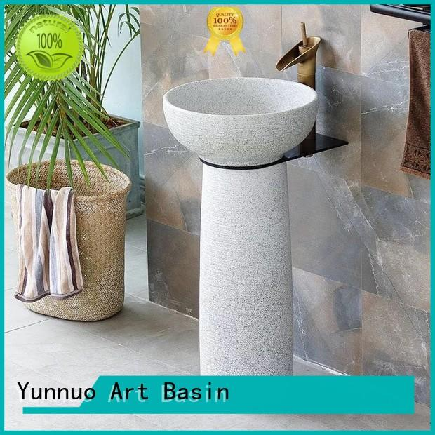 Yunnuo art basin funky freestanding wash basin discount bistro