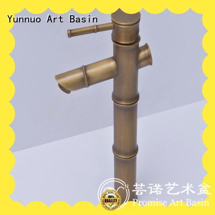 Yunnuo art basin material basin tap high quality balcony