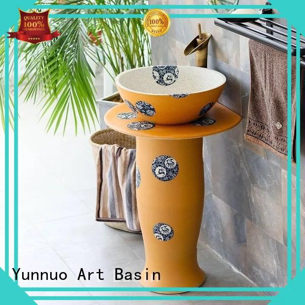 Yunnuo art basin bathroom bathroom wash basin counter designs discount bistro