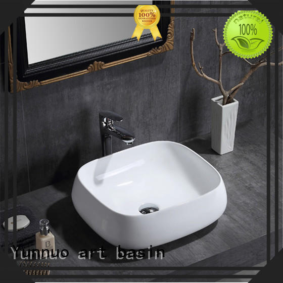 Yunnuo art basin art small ceramic sink for wholesale patio