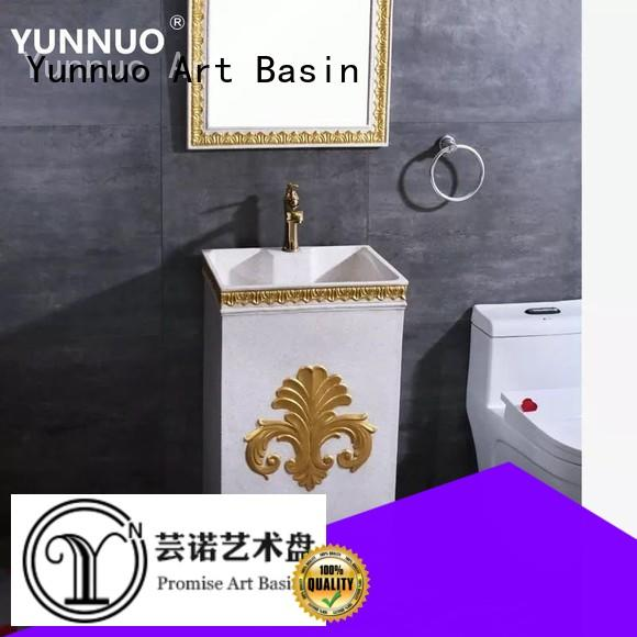 Yunnuo art basin special price sandstone countertops manufacture project
