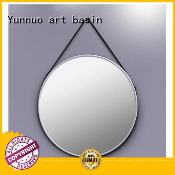 Yunnuo art basin fashion design vintage bathroom mirror manufacturer Restaurant