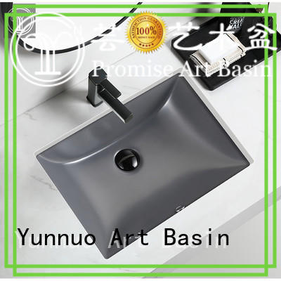 Yunnuo art basin fivepointed ceramic wash basin free sample balcony