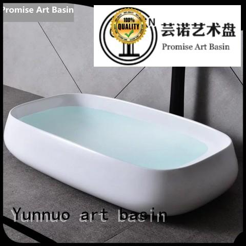 best design stone hand basin from artificial stone Hotel